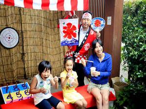 【自社HP●お子様歓迎】楽しい夏休み は縁日でワイワイゲーム大会☆標高630mの涼しい避暑地!!